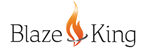 blaze king fireplaces logo
