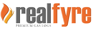 real fyre fireplaces logo