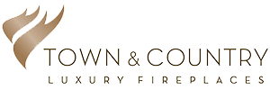 town and country fireplaces logo