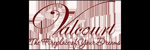 valcourt fireplace logo